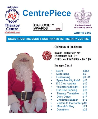 Picture of CentrePiece winter 2016 front cover