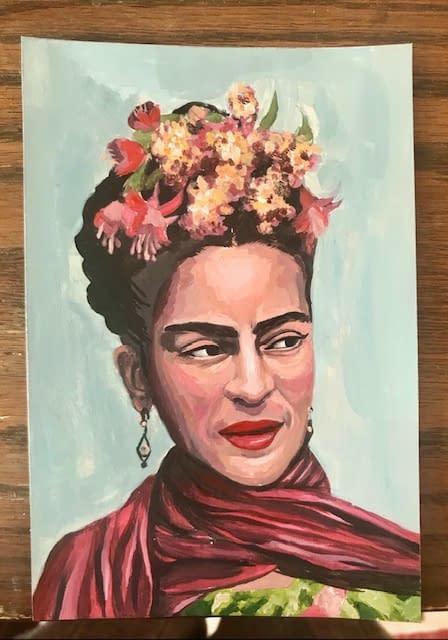 Postcard-sized Art